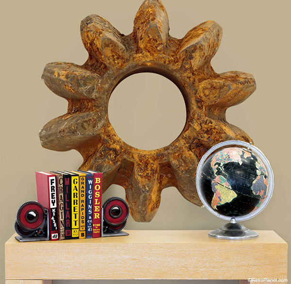 Industrial Gear Wall Art