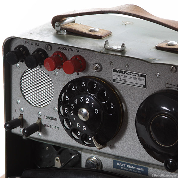 Vintage Military Telephone Details