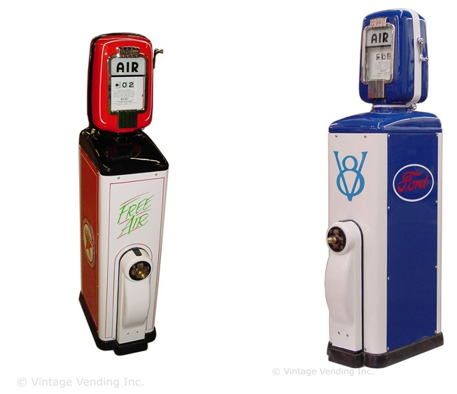 Texaco & Ford Eco Air Meters
