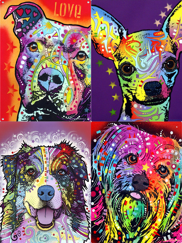Dean Russo Dog Art