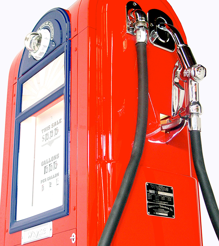 12 Vintage Gas Pumps & Gas Station Accessories