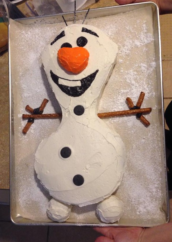 Olaf. Complete!
