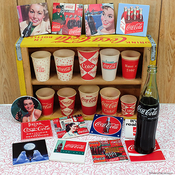 Coca Cola Coaster Sets