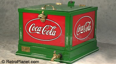 1931 Coca-Cola Glascock Countertop Cooler