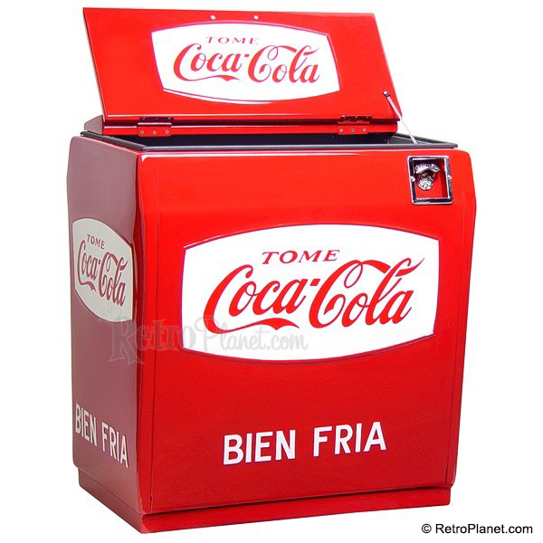 Mexican Coca-Cola Cooler