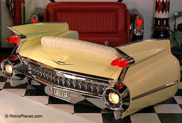 1959 Cadillac Car Couch