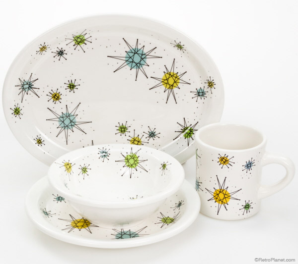Atomic Dinnerware