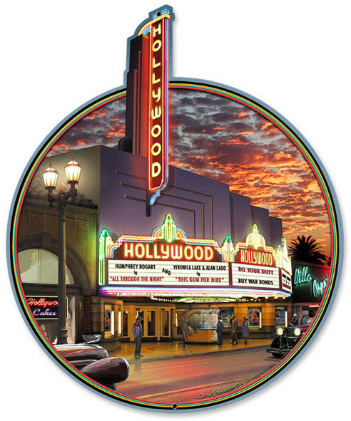 The Hollywood Theatre in Hollywood, California