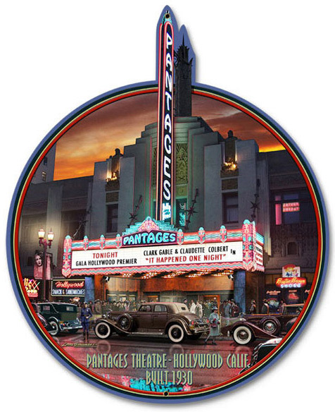 Pantages Theatre Sign