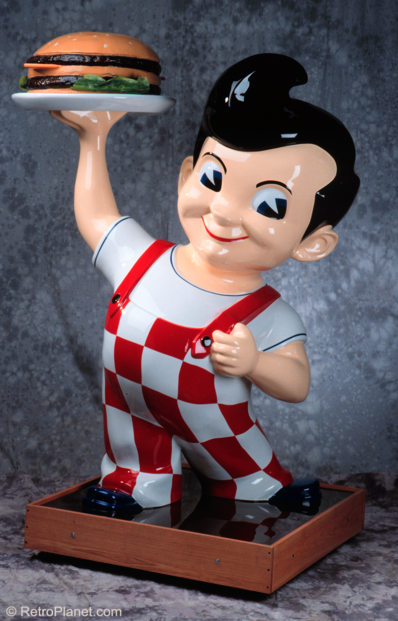 Fully restored big boy statue