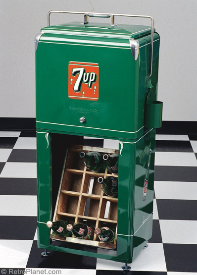 7Up Progress A1 Picnic Cooler & Stand