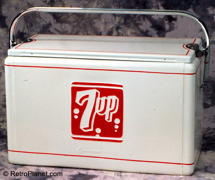 7Up Cronstroms Picnic Cooler