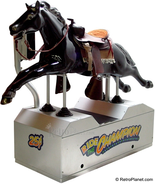 Champion Horse Kiddie Ride Coin Operated