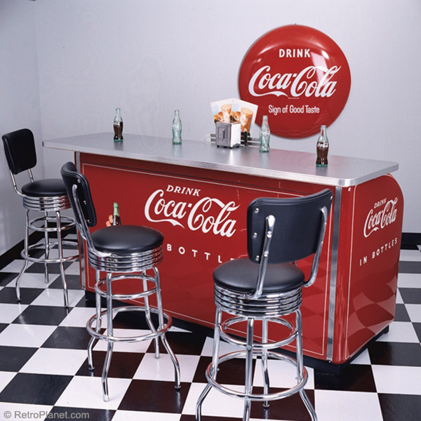 Coca cola victor 3 door cooler counter for 1 door retro coke cooler