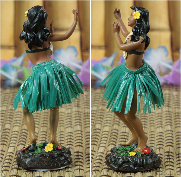 Dancing Hula Girl Dashboard Doll