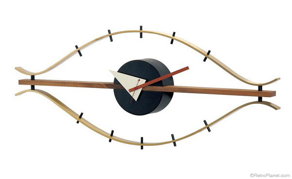 George Nelson style Eye Clock