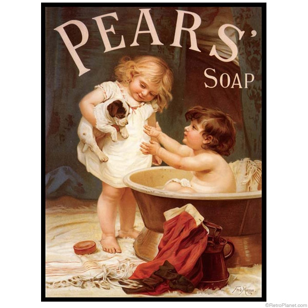 """Pear's Soap """"His Turn Next"""" Advertisement"""