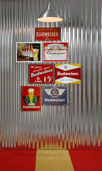 Budweiser Beer Signs Theme Decorating
