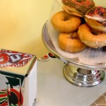 Diner Inspired Cake Stand-Perfect For Doughnut