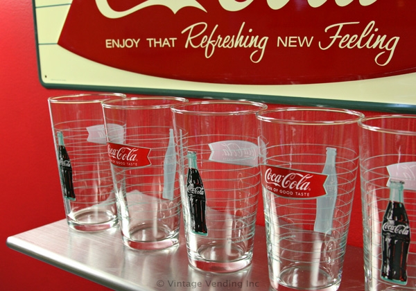 Coca-Cola Fishtail Glasses