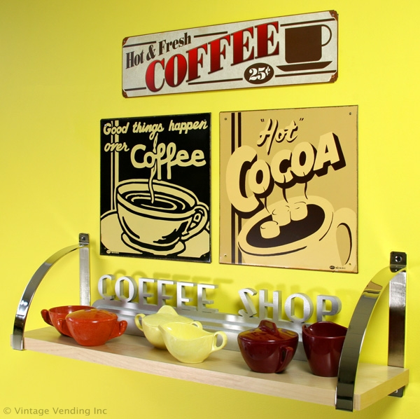 Coffee-Signs-Melmac-Sugar-Creamers