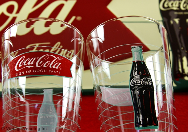 Coca-Cola Sign of Good Taste Drinking Glasses
