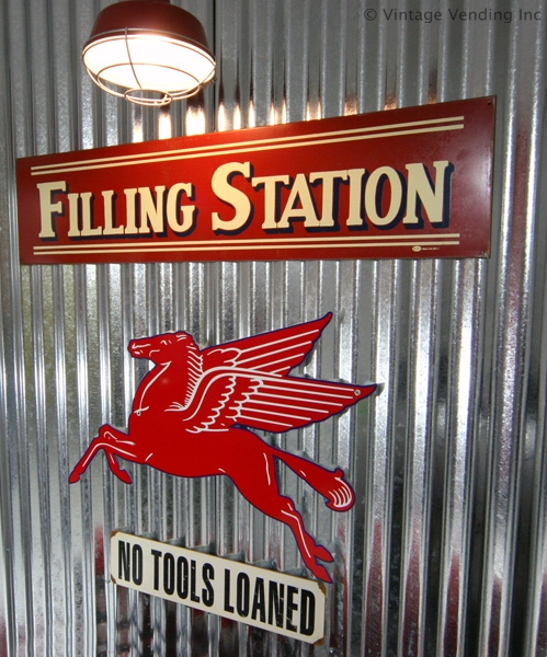 Garage Signs Decor : Old time filling station decor