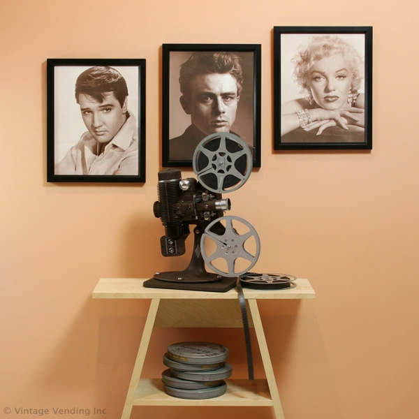 Elvis, James Dean & Marilyn