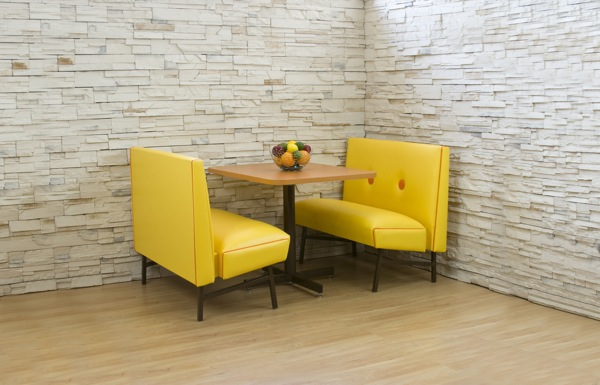 70s Style Dining Booth