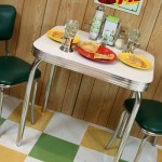 A retro table for two!