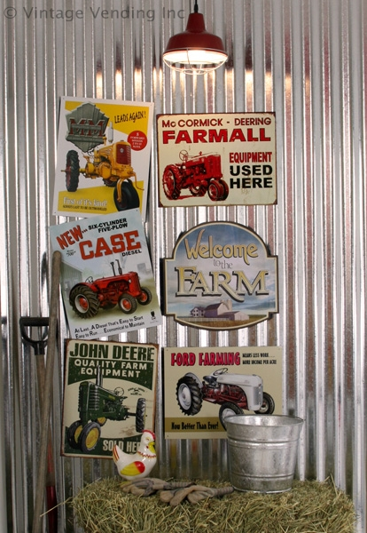 Fun with Farm and Tractor Signs