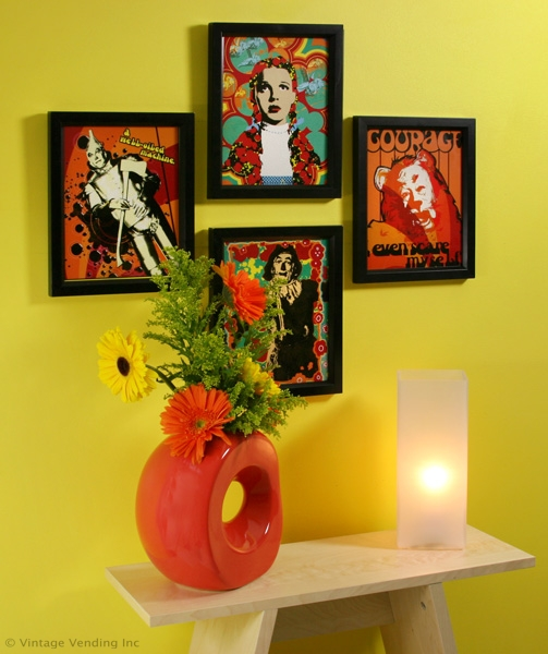 Wizard of Oz Framed Prints Wall Decor