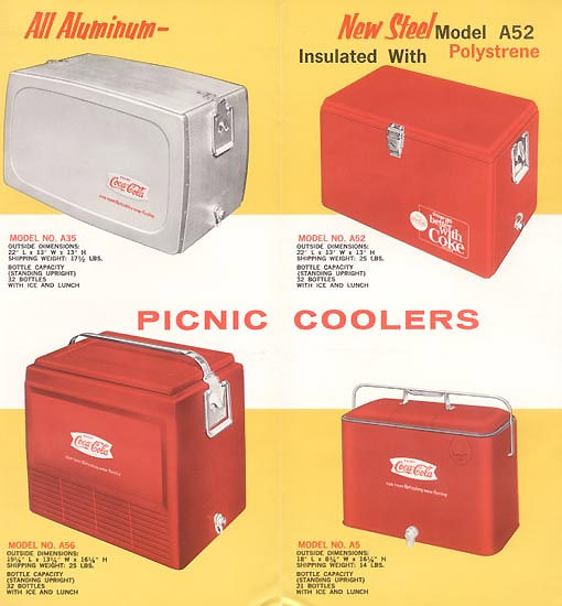 Coke Progress Picnic Coolers