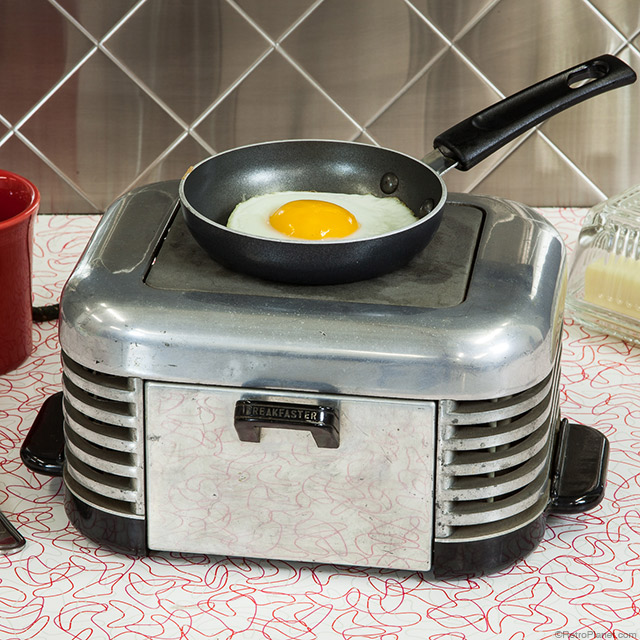 the calkins breakfaster is a clever little art deco style 2 in 1 kitchen appliance  small appliances of the early 20th century  rh   blog retroplanet com