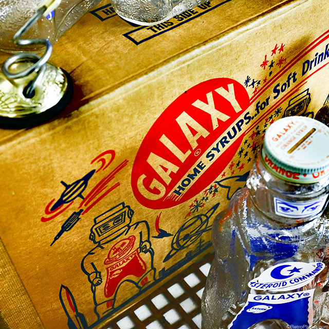 Galaxy Home Syrups Box