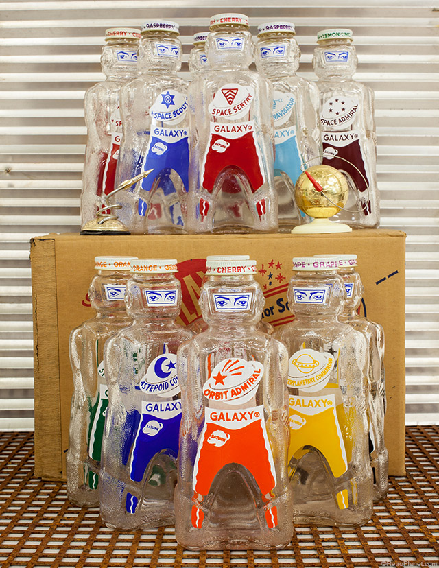 Galaxy Home Syrup Spacemen Bottles