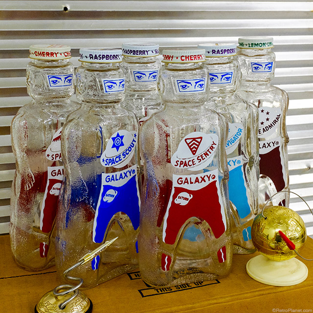 Galaxy Syrup Bottle Collectibles