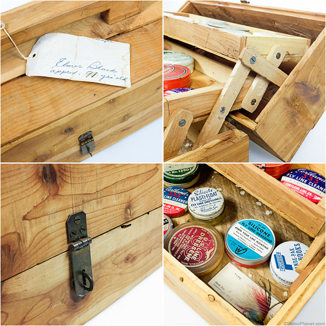 Wooden Tackle Box Features