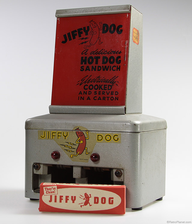 Jiffy Dog Hot Dog Machine