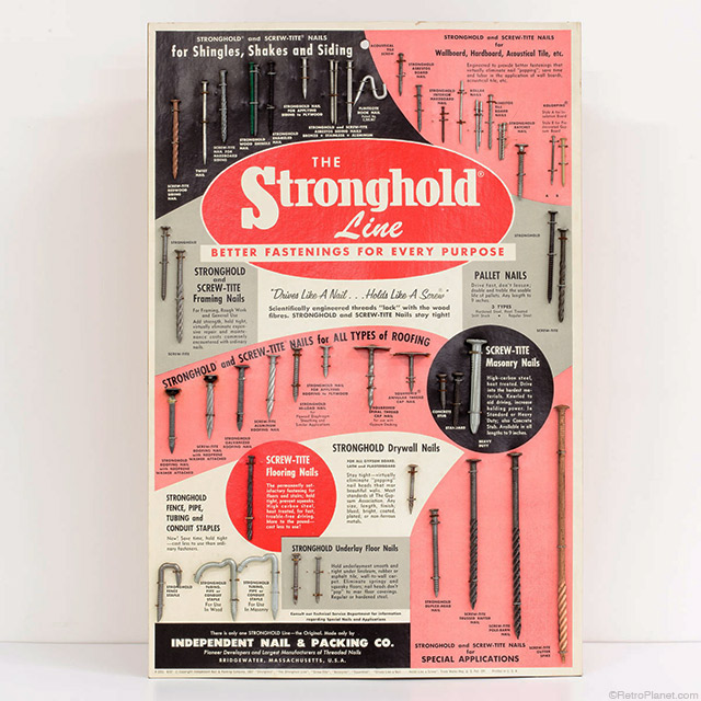 Stronghold Line Fastener Display