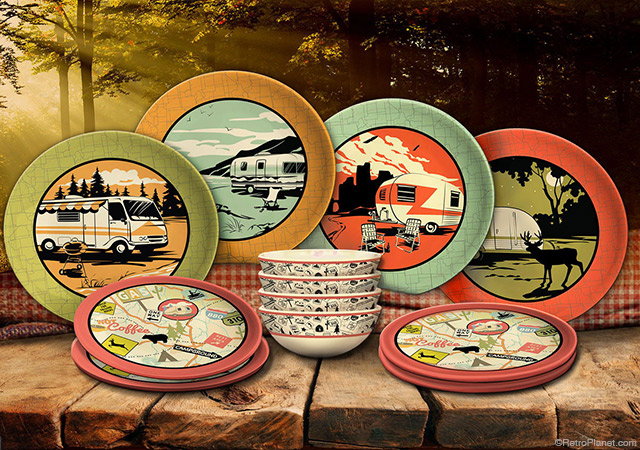 Camp Casual Camping Dishes