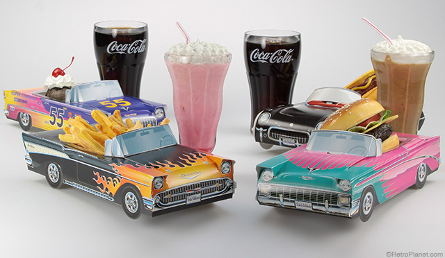 Decorating Ideas for Classic Cruisers Vintage Car Cartons