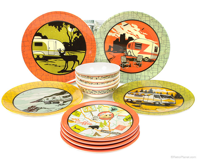 Melamine Camping Plate Sets