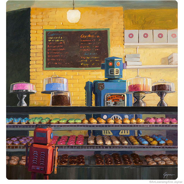 Robot Donut Shop Indecision by Eric Joyner