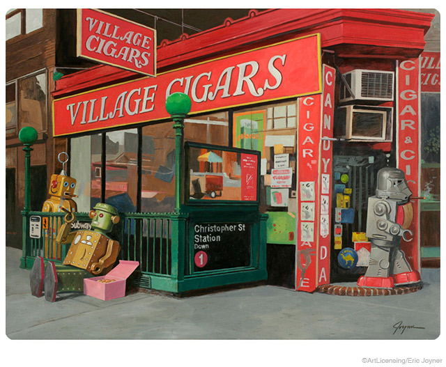 Robot Village Cigar Shop