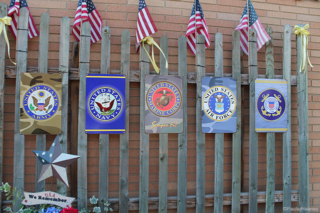 Military Insignia Signs