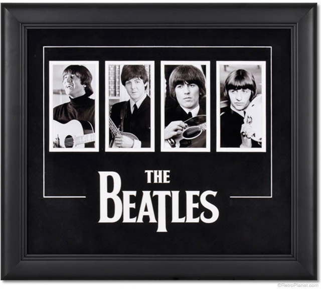 Beatles Framed Photos