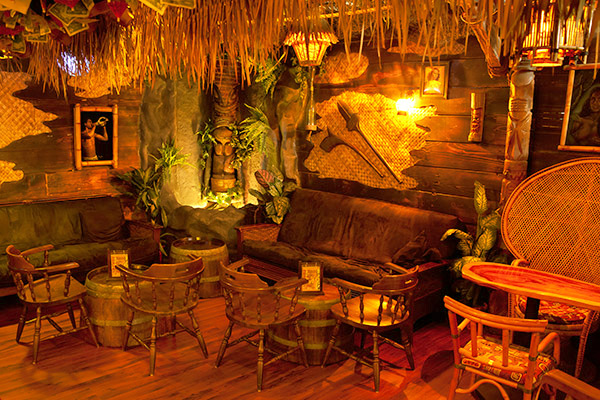 The Forbidden Island Tiki Bar