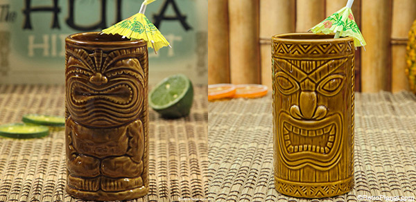 Happy and Lucky Tiki Mugs