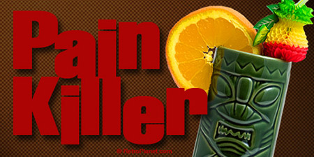 Painkiller Tiki Drink Recipe